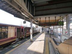 ★10:10 貨物列車の遅れにより、乗車中の普通列車が遅延…何とか接続する新幹線に乗車でき、無事古川駅に到着。