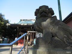 小村井香取神社。