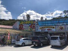 さて、金武町に向かいますが道の駅許田で農産物を物色し、青パパイヤを購入しました