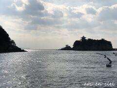 仙酔島と弁天島は、結構離れているのですね。