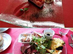 大山 レストラン セルフィーユでランチ