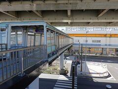 1つめの駅で早速降りてみます。  南部市場駅