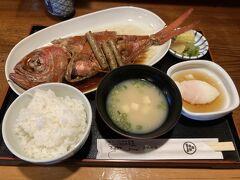 結果 金目鯛煮付け定食 3,500円 味付けは優しい系 身も分厚いし、脂もノリノリ うまー(゚д゚)ウマー