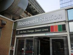 ルーズベルト駅で下車