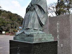 天璋院篤姫銅像