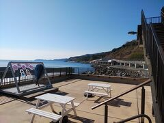 漁港の駅totoco2階から真鶴、伊豆半島
