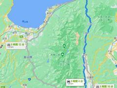 白骨温泉から日本海☆  景観がすばらしい国道148号線をまっすぐです。JRの大糸線と並行しています。