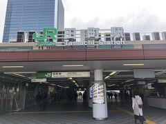 今回の旅の前の話。あさイチで新橋にて髪を切りに行ったあと、田町駅に降り立つ。