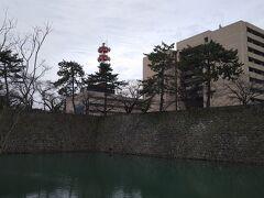 福井城跡を散策しました。