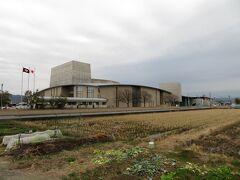 遺跡の南にある唐古・鍵 考古学ミュージアムへ。