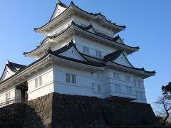 そして小田原城へ。なんかここで宗教勧誘みたいな人に話しかけられてしまった。これで5分ほど時間を失う。