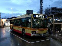 そして善行駅からは、神奈川中央交通のバスに揺られて善行団地へ。日もとっぷりと暮れてきたので、これにて本日の行程は終了とします。。