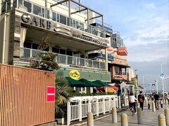 いつも何十人も並んでいる行列店ですが、緊急事態宣言下ですので空いていました。  江ノ島周辺では、この店が一番混んでいます。