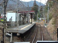 石神前駅。この駅にはあとで来ます。