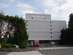 科学技術館 六芒星で覆われています。