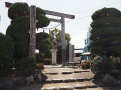 日永の追分  ここは東海道をと伊勢神宮へ通ずる街道との別れだったらしい。