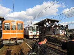 川跡駅で両方向に接続