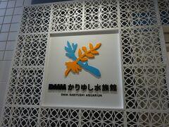 最初の目的地はかりゆし水族館。 以前那覇空港で、地域共通クーポンでチケットを買っています。