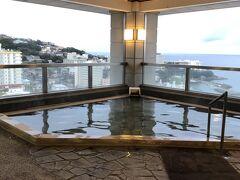 南紀白浜マリオット  最上階露天風呂