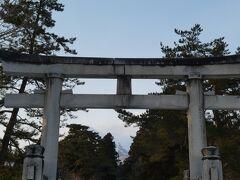 岩木山神社到着。