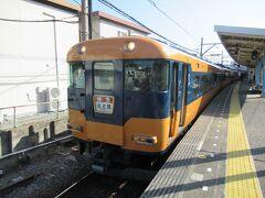 鳥羽駅から松阪まで移動します。 時間の関係もあり特急電車で移動します。