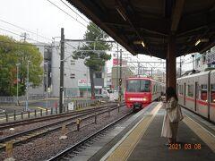 午前09:22発の特別快速列車で名古屋に向かいます