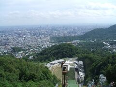 札幌市を一望できる展望
