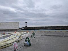 早川漁港に立ち寄りました。