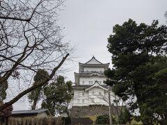 小田原城が見えてきましたが・・