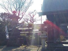 「西光寺・近藤勇の座像」12:43通過。