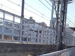 「東府中駅」が見えてきました。今日は東府中駅で終了です13:41通過。