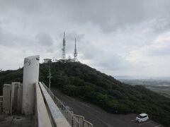 於茂登岳が見えます。