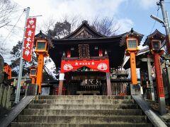 さらに少し先にあるニノ峰(中之社神蹟)。御祭神は青木大神で、五穀豊穣・商売繁盛の神様である。