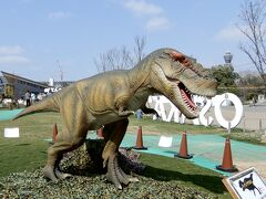 これはわかる!ティラノサウルス   動く恐竜、そして鳴き声も恐竜によって色々で   子どもの中にはギャン泣きしてる子もいて、ママが困ってた