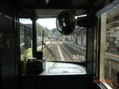 終点・天竜峡駅に到着しました