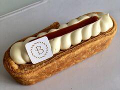 3位 ボリス・リュメ Boris Lumé ミルフィーユといえばクリームとパイ生地が層になっているのが一般的ですが、リュメさんのは筒形に焼いたパイを立てて空洞にクリームを絞った個性的な形。