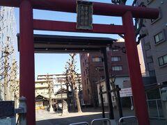 「市守大鳥神社 入口」11:22通過。
