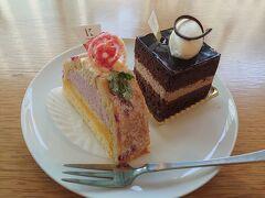 朝方ということもありケーキの量はそんな多くありませんでしたが代わりに新作のいちごロールケーキが出てたので早速購入(^^)