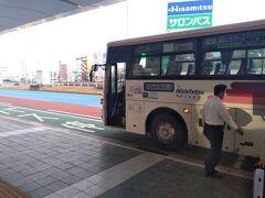 1時間半ほどで福岡空港に到着
