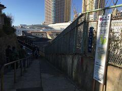 天王寺に向かう途中に、紅葉坂という名前の坂がありました。
