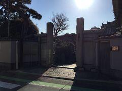 寿老人様を祀った長安寺に到着。