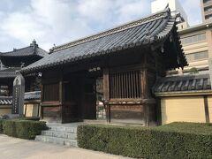 天神駅から祇園駅まで地下鉄に乗り、東長寺へ。 駅からすぐ。