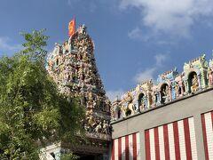 リトルインディアの中心にあるヒンドゥー寺院。