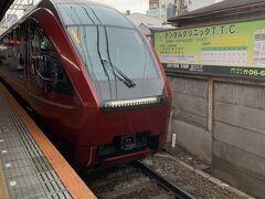 帰りもひのとりで~♪ 相方も気に入ったようで、行きの電車で予約してました。