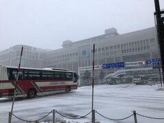 一夜明け、今日は一転して雪模様。 マイナス3℃です。いいね北海道らしくてw