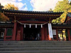 とりあえずお腹を満たして日光二荒山神社中宮祠へ。