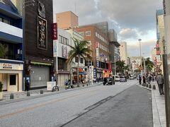 レンタカーも返却したので、国際通りに繰りだします 歩いても、余裕の位置でした