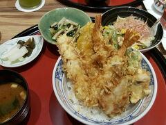 伊勢丹が閉まる数日前。伊勢丹の中にある天ぷら屋。 3日通ってしまった。