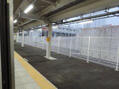 6:50 @御厨駅 (静岡県磐田市)  2020年3月のダイヤ改正で新規に開業した駅です。高輪ゲートウェイ駅の陰に隠れてあまり話題になりませんでしたが、東海道線静岡地区では愛野駅以来19年ぶりの新駅です。