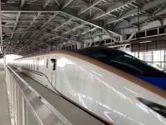 金沢から黒部宇奈月温泉駅まで  はくたかに35分だけ乗車